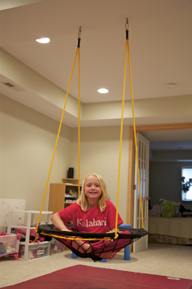 DIY Project: Basement Bungee Swing