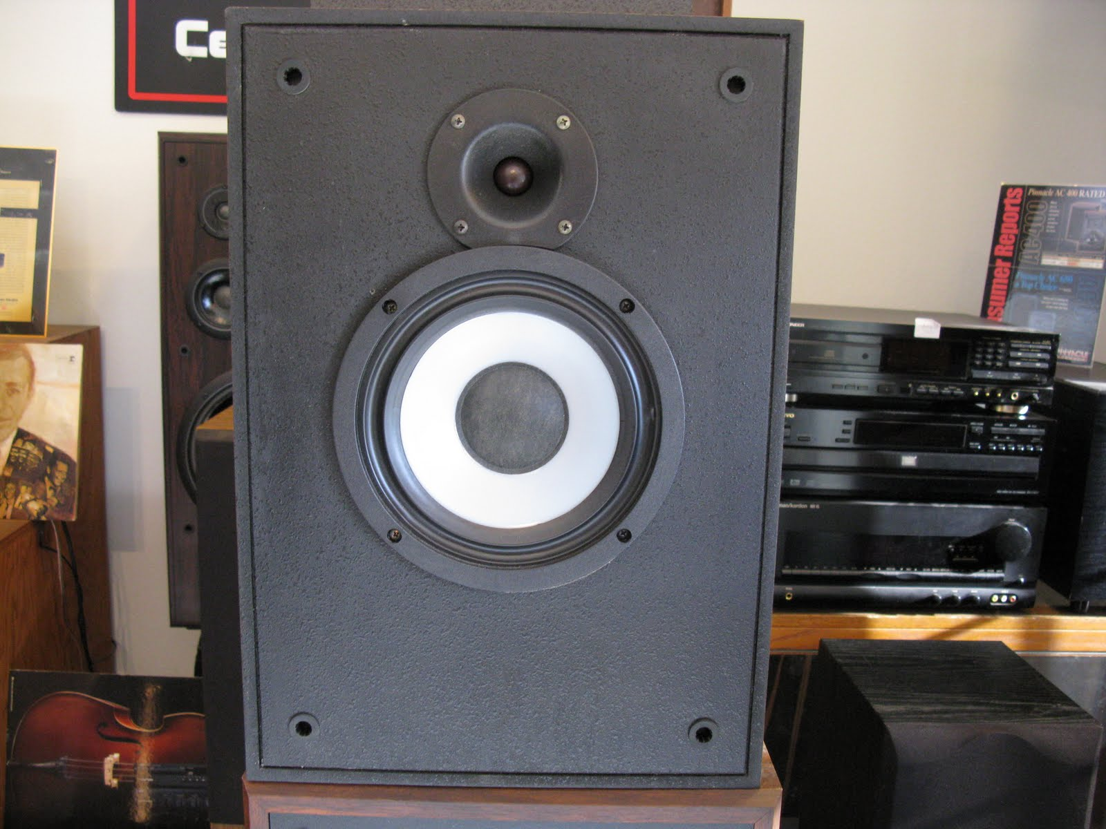 klipsch speakers r a black pair speaker bookshelf