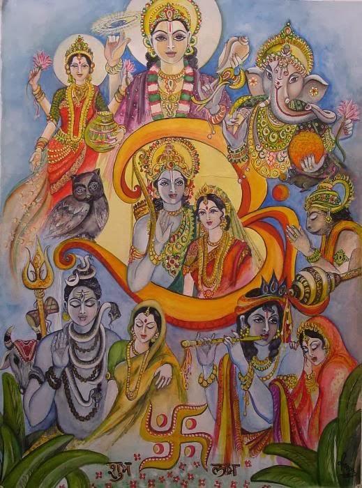 The world too many gods and goddess - Images of hindu gods and goddesses ...