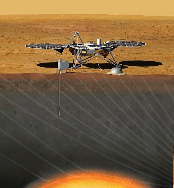 Mars Insight imagen gráfica