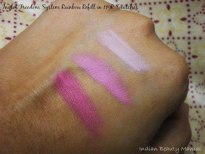 Inglot Freedom System Rainbow Eyeshadow Refill in 119R Swatches Review