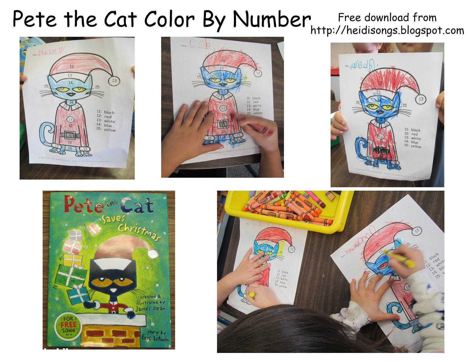 pete the cat saves christmas pdf