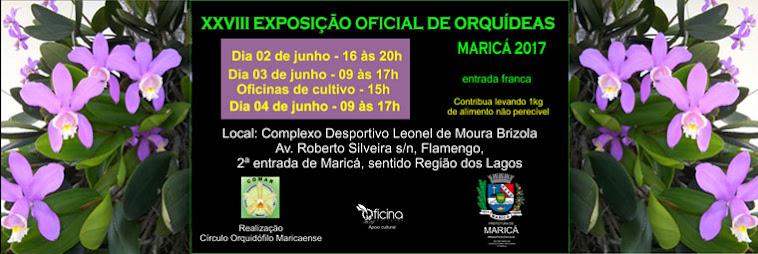 XXVIII EXPOSIÇÃO OFICIAL DE ORQUÍDEAS DE MARICÁ