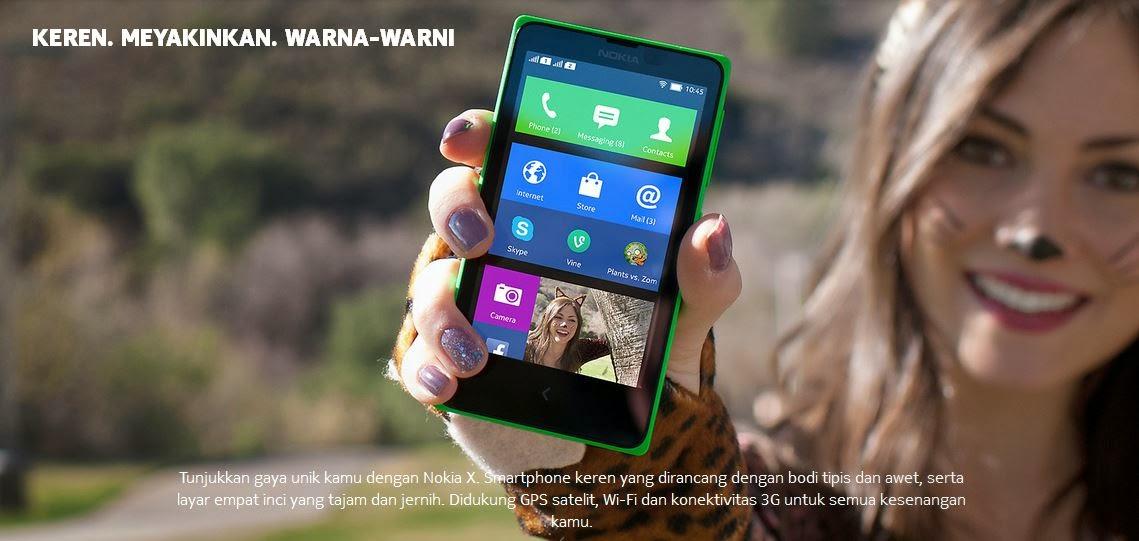 Fitur dan Spesifikasi Nokia X Normandy