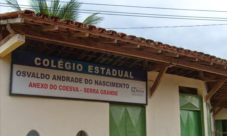 Colégio Estadual Osvaldo Andrade do Nascimento- Anexo do CEEP- Serra Grande