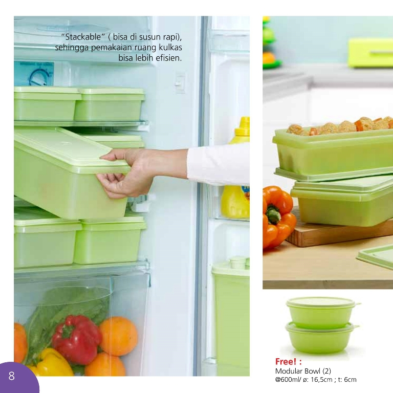 Fresh Pear Collection Promo Tupperware Juli 2013