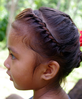 Micronesia cute girl