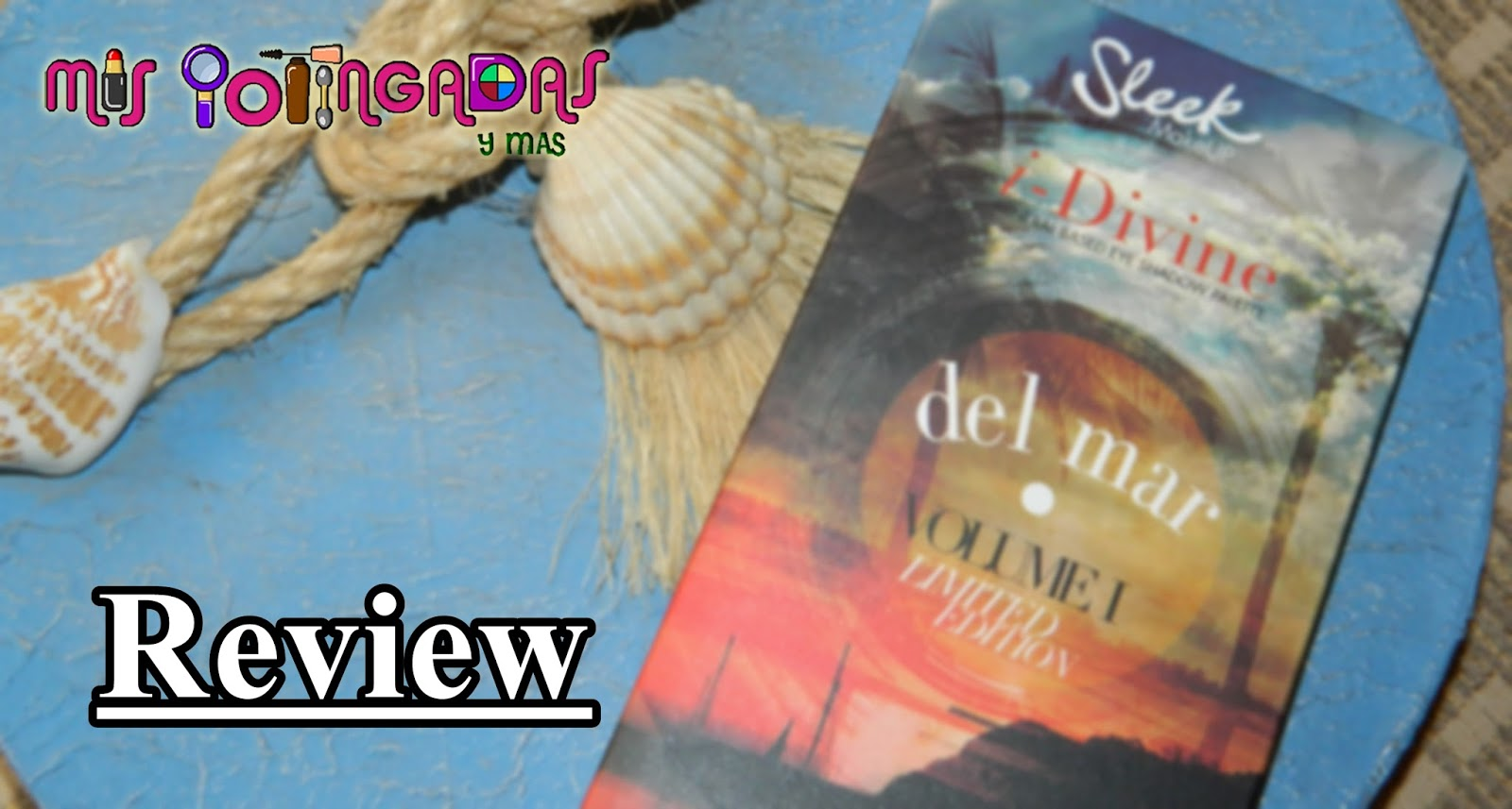 Review - Paleta Del mar de Sleek