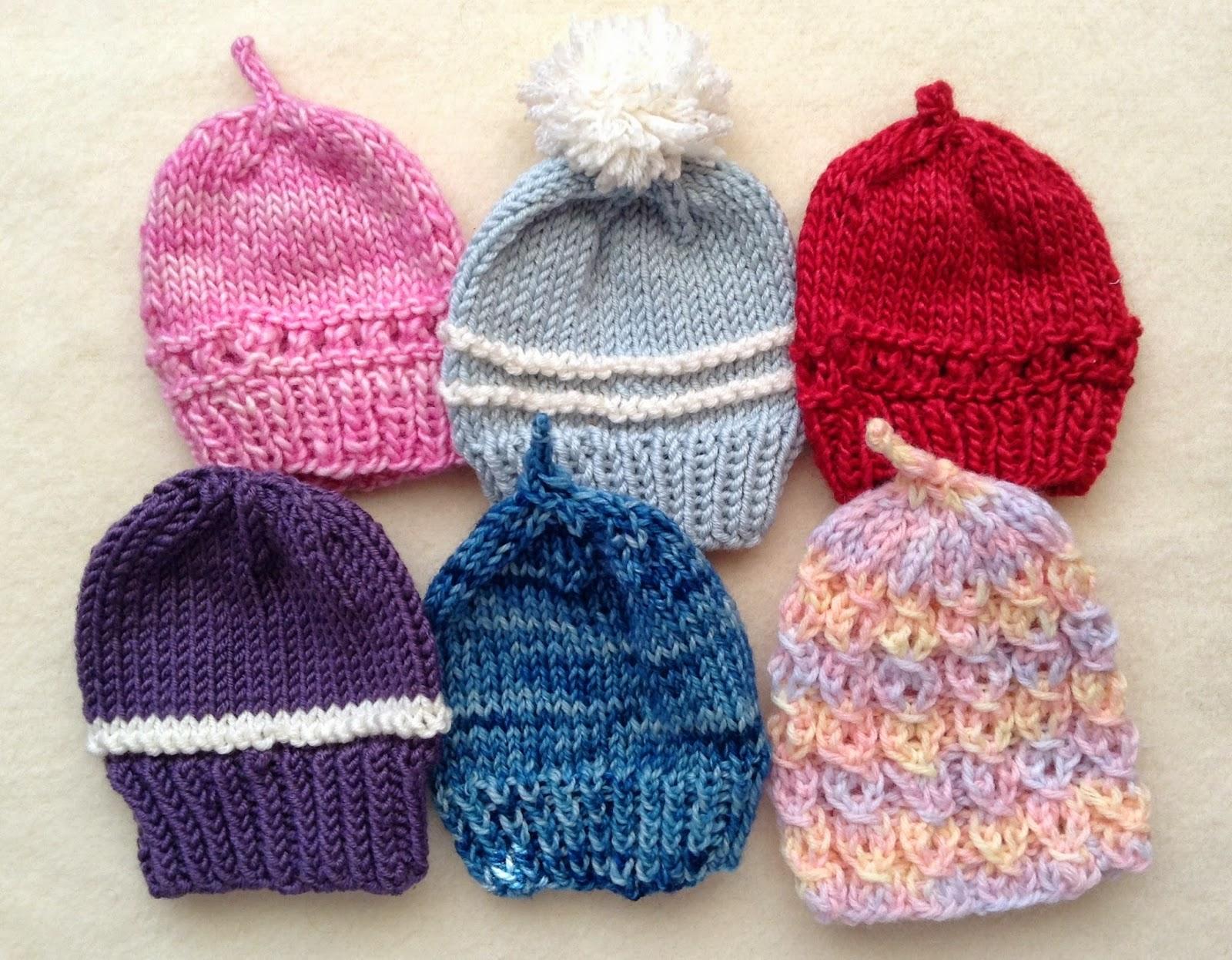 Knitting for Peace: Preemie Hats I