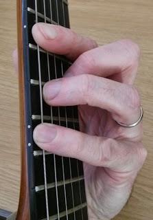 Elektra guitar chord