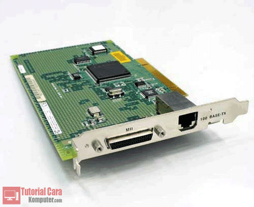 Pengertian, Jenis dan Fungsi Network Interface Card (NIC) / Kartu Jaringan - TutorialCaraKomputer.com