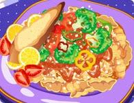 العاب طبخ سمك الجمبري
