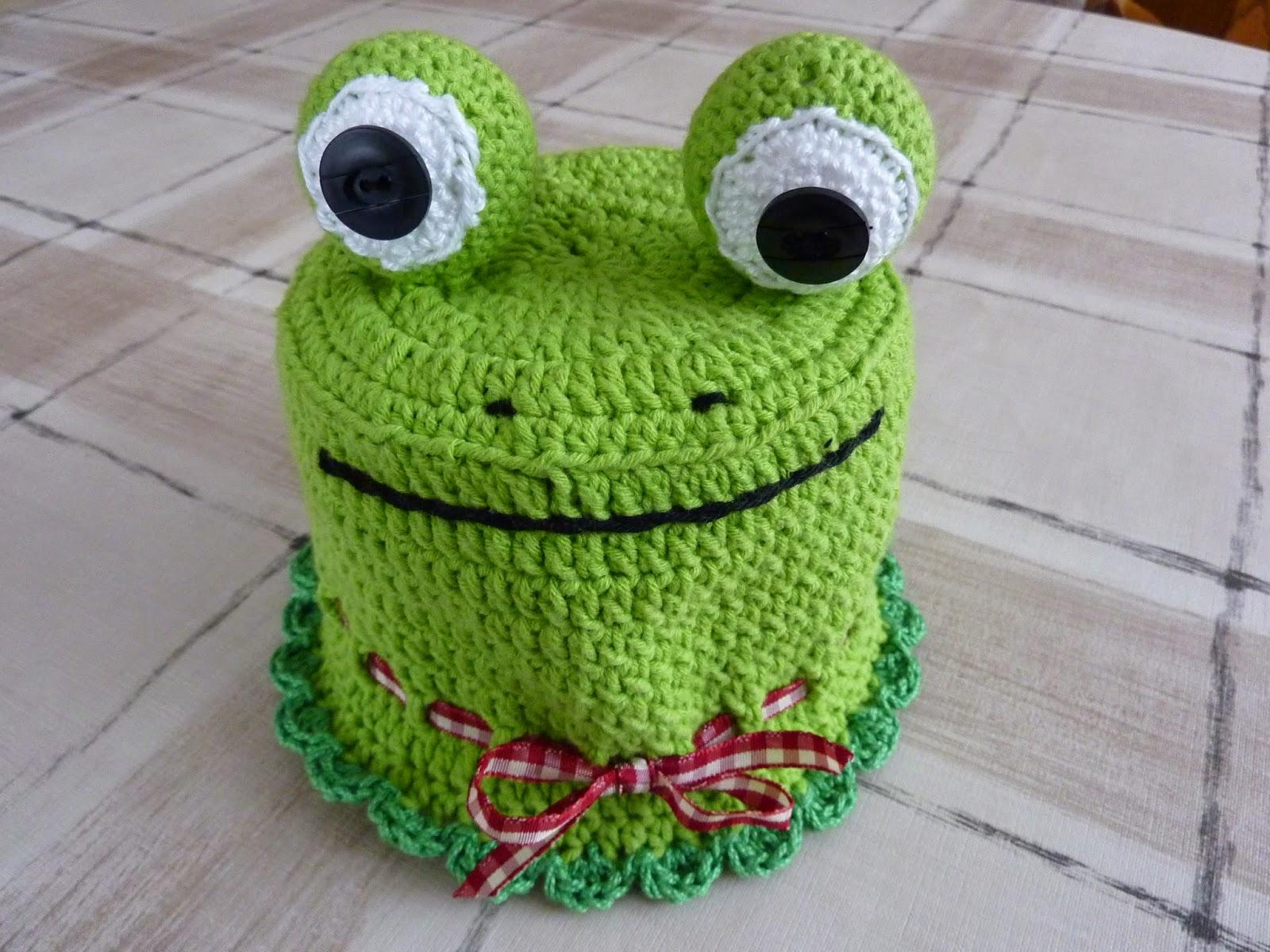 Mamos Kreativblog Klorollen Frosch