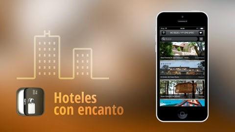 La app Hoteles con Encanto