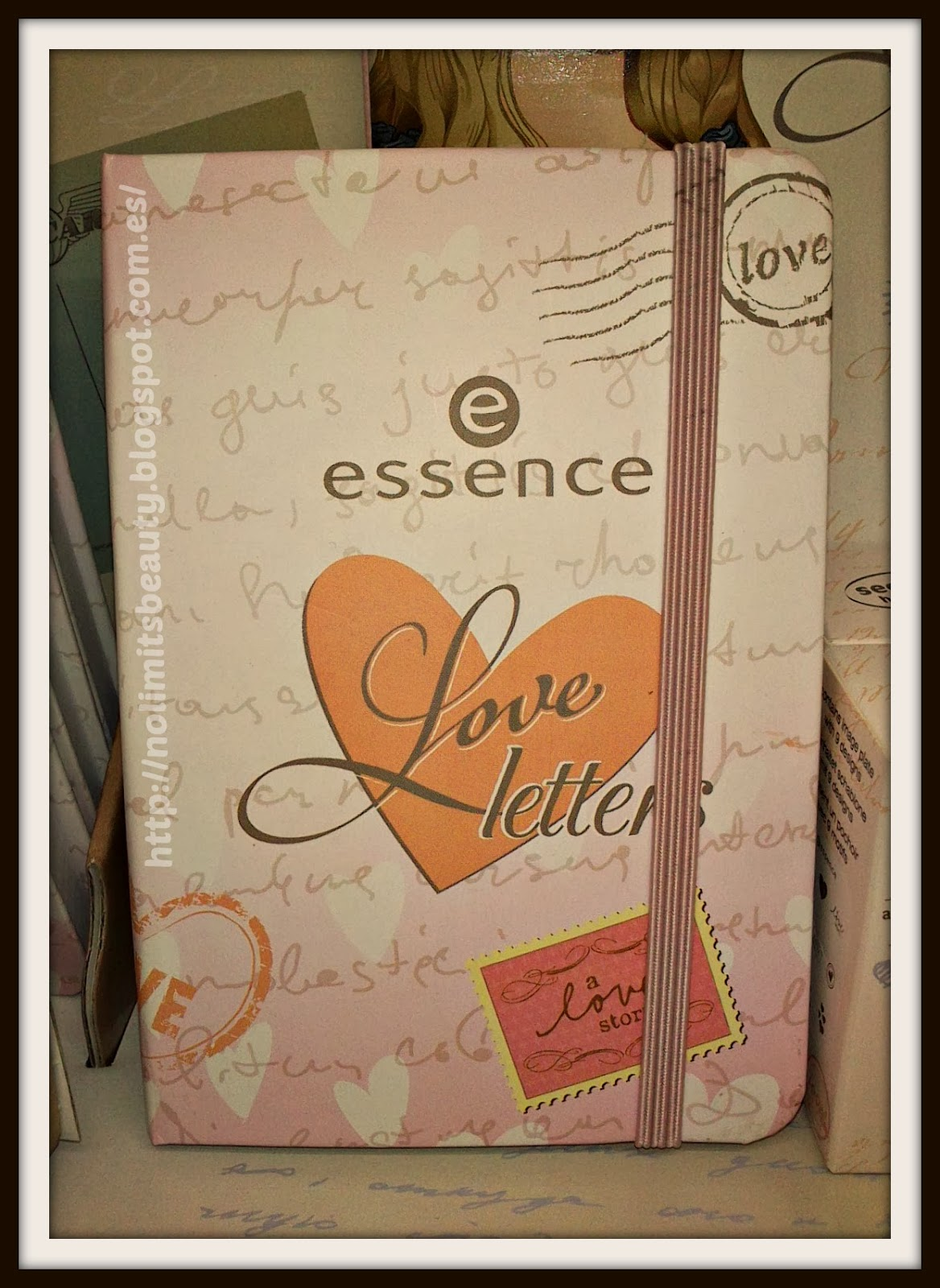 Essence Love Letters: diario / cuaderno