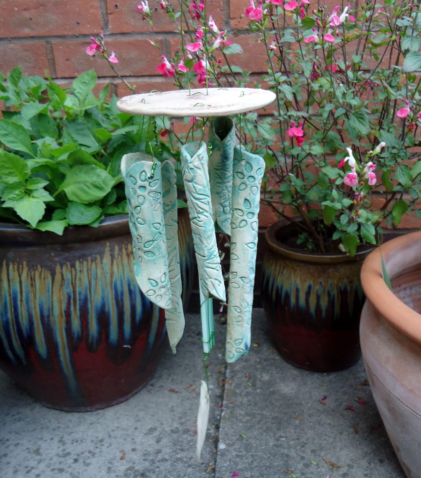 New Wind Chimes Charlotte Hupfield Ceramics