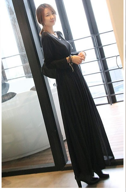 gorgeous maxi dress from e fox city