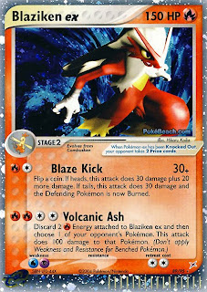 Blaziken EX Team Magma Vs Team Aqua Pokemon Card