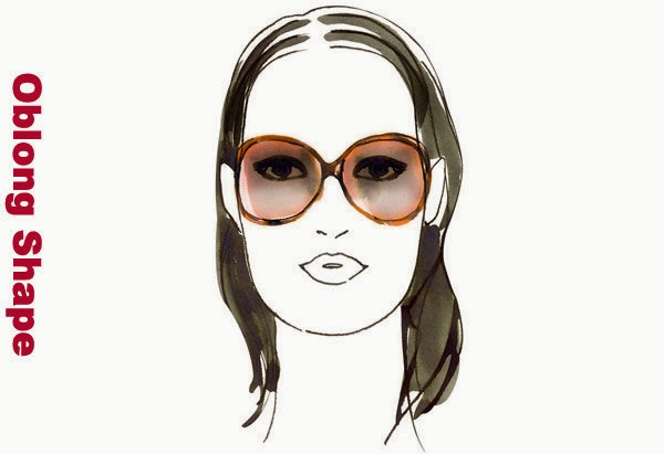 Best Glasses Frame For A Long Face : Fashionably Fabulous: What Frame Type Best Suits Your Face ...
