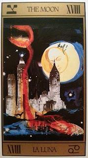La Luna- Tarot de Dalí