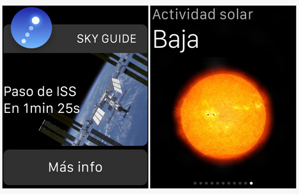 Sky Guide para Apple Watch
