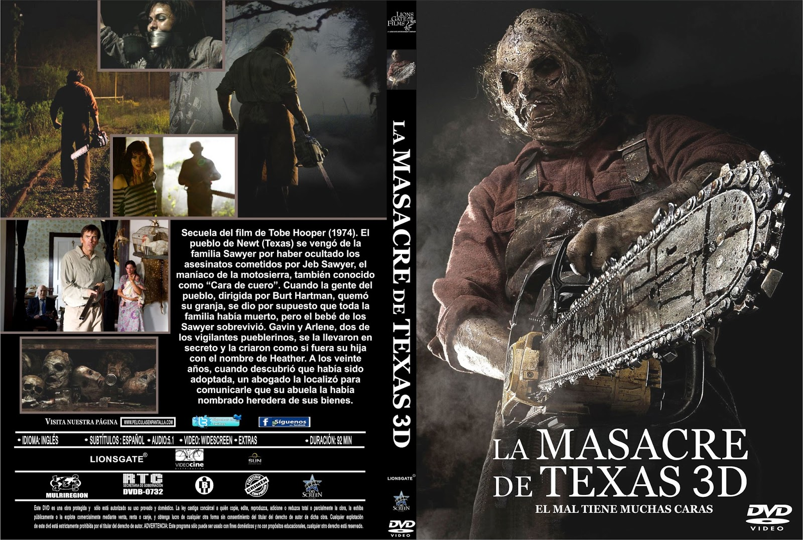 Texas Chainsaw 3D - DVDFULL LATINO