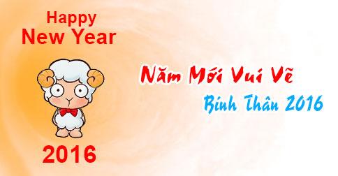 Ảnh chúc năm mới vui vẻ dễ thương nhất 2016 - ảnh 4
