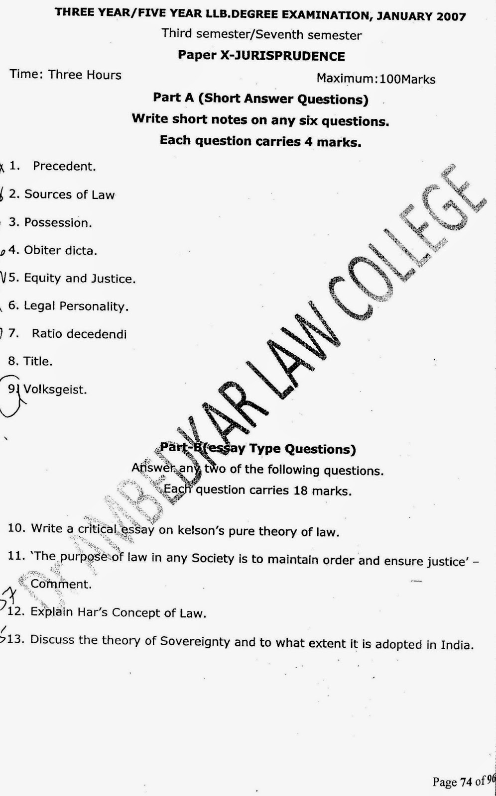Jurisprudence Essay Legal Essays Legal Essays Jurisprudence Essay  Lawdetails Pot In   Semester Jurisprudence S V Jurisprudence  Year Llb   Page Definition Essay Paper also High School Essay Help  How To Write A Thesis Statement For A Essay