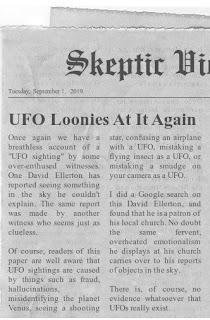 UFO debunking