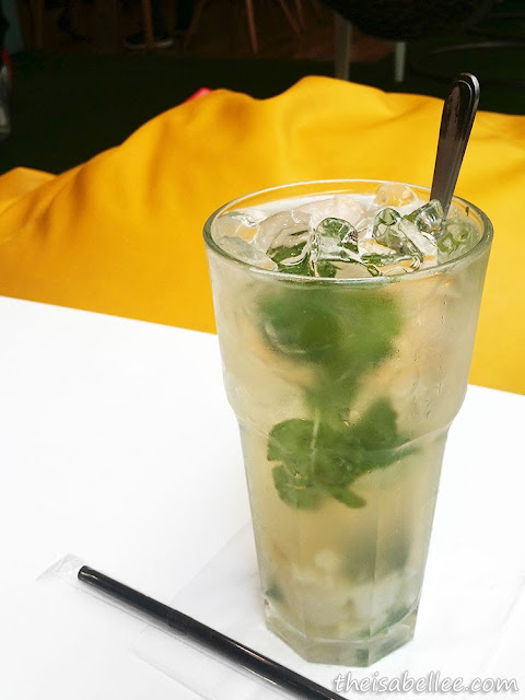 Lychee Virgin Mojito at Tossed Jaya Shopping Centre