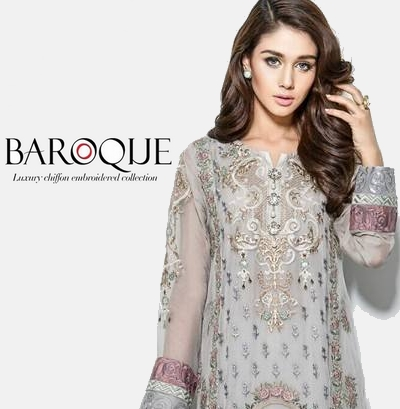 Baroque luxury winter chiffon collection 2016 formal for Baroque design clothes