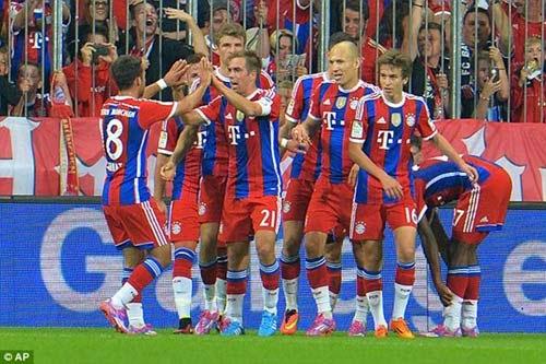 Top 10 CLB Kiểm soát bóng tốt nhất Châu Âu