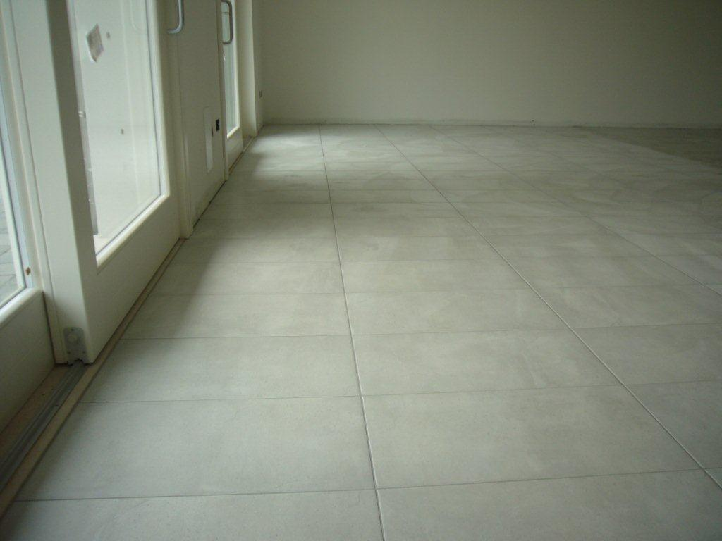 Pavimento su piano terra open space gabbatore mattia