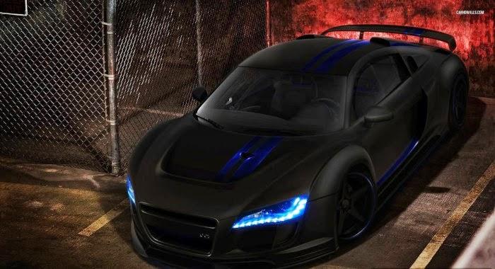 Black Audi R8 Sports Car Hd Wallpaper Sport Car Pictures