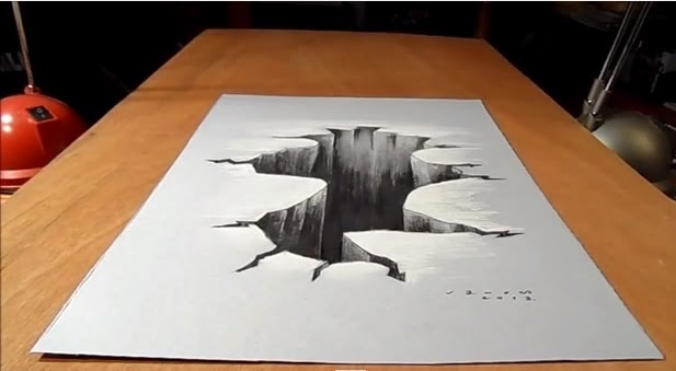 amazing drawing 3d illusion art you should see what its com let s