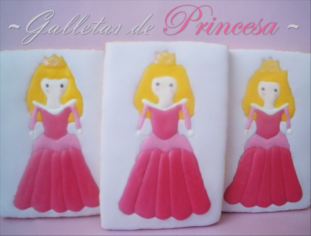Galletas decoradas: Galletas de Princesas