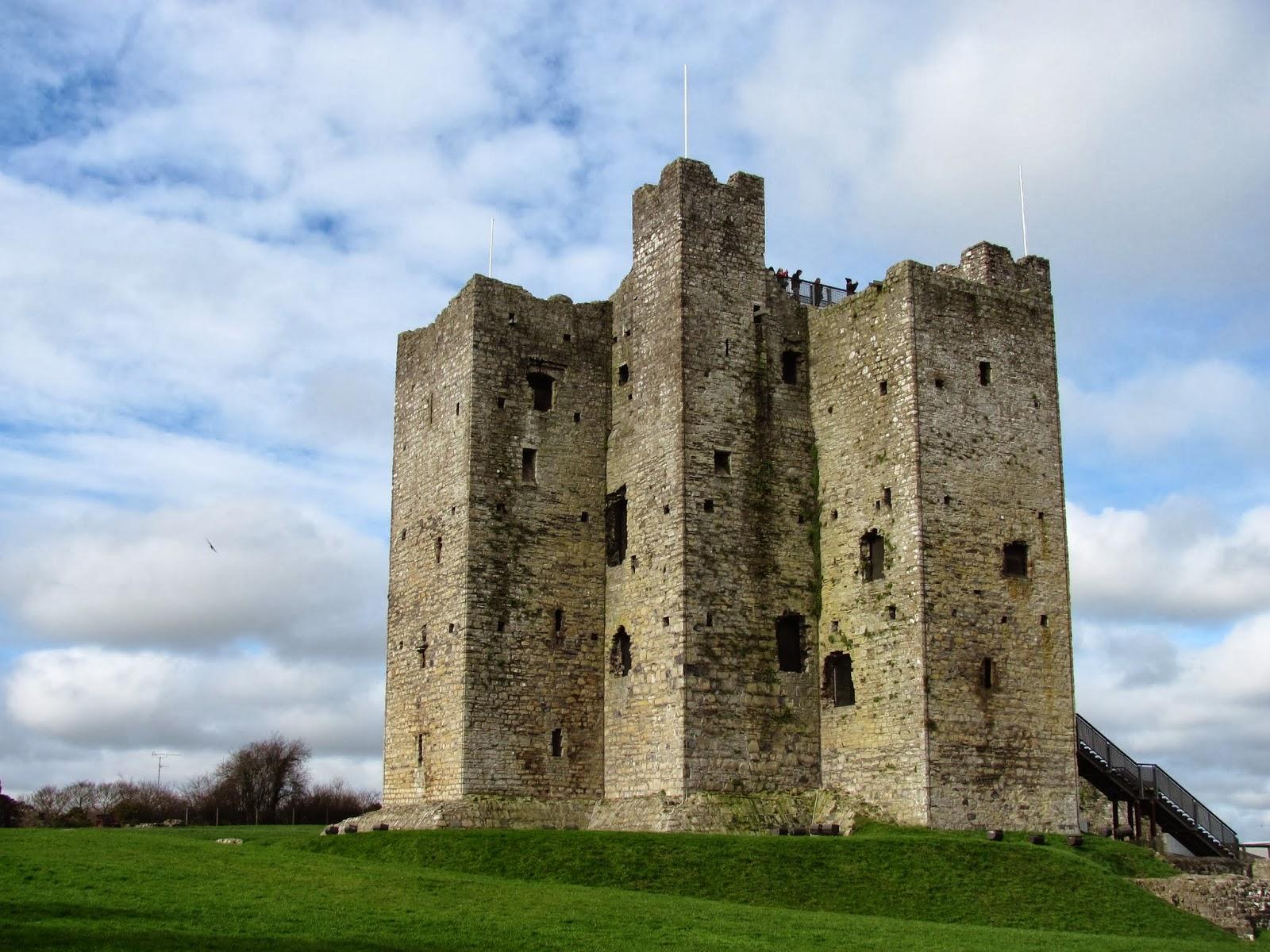 The keep of Trim Castle in Trim, Ireland