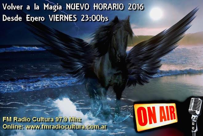 NUEVO HORARIO VIERNES 23hs (11 PM - Hora de Argentina)