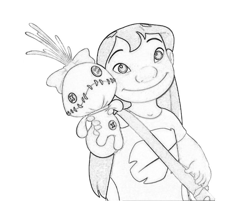 Lilo And Stitch Surfing Coloring Pages Images amp Pictures Becuo