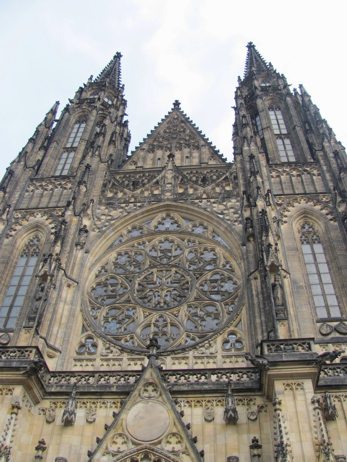 St. Vitus' Cathedral front side Prague