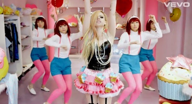 The Worst Pop Video of 2014? Avril Lavigne's Hello Kitty Music Video Goes Viral