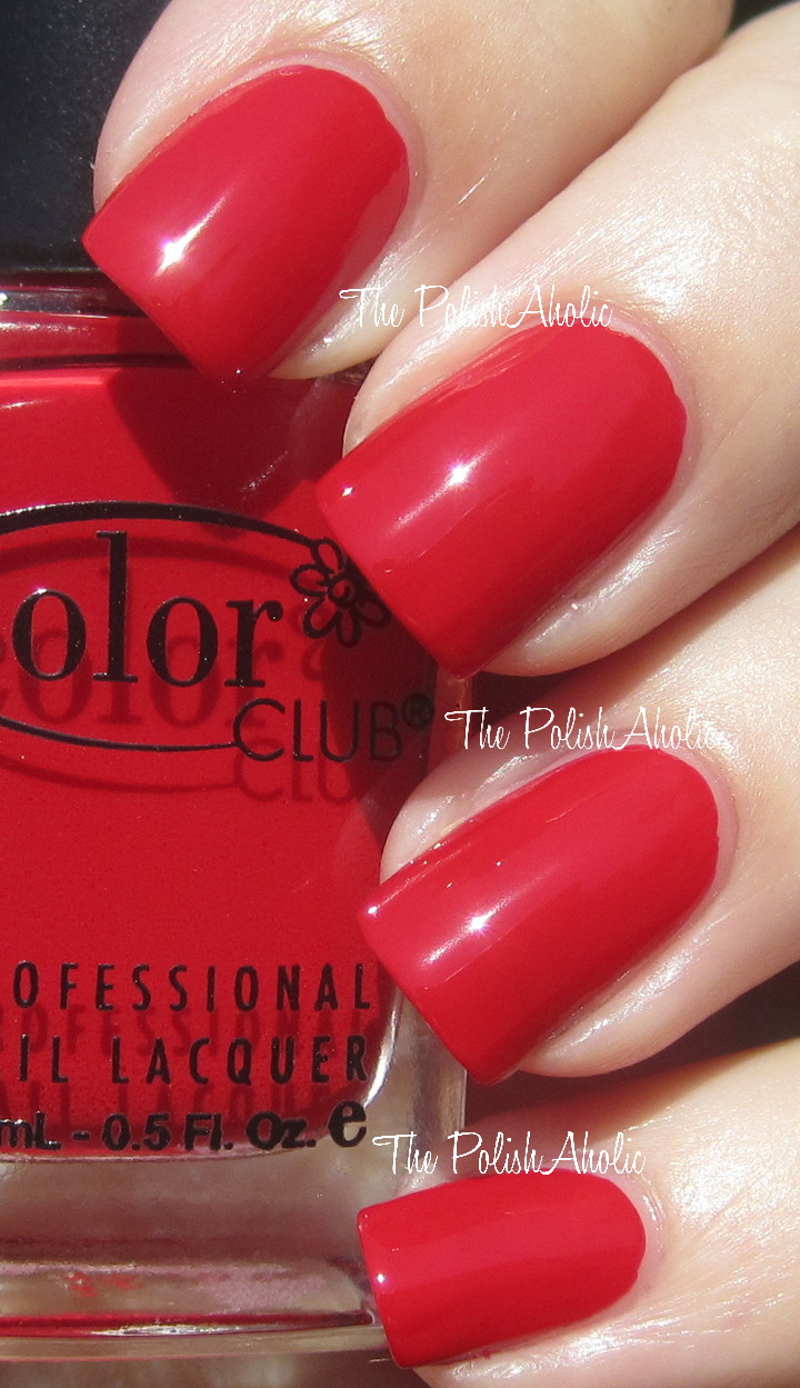 Book about color red - The Polishaholic Color Club Fall 2012 In True Fashion Collection Swatches