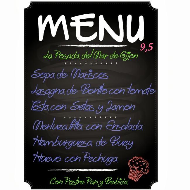 Nuestro Menu Del Dia Restaurante Gijon La Posada Del Mar