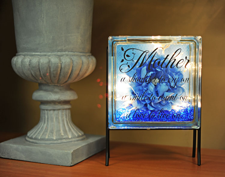 Ben franklin crafts and frame shop inspiration glass blocks for Acrylic glass blocks