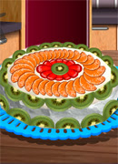 Готовим тортик Павлова - Онлайн игра для девочек
