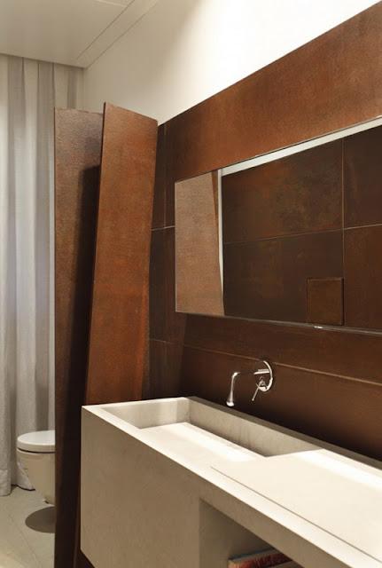 Ванная комната в доме Itiquira в Рио-де-Жанейро