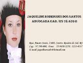 DRª Adv JAQUELINE R. DOS SANTOS