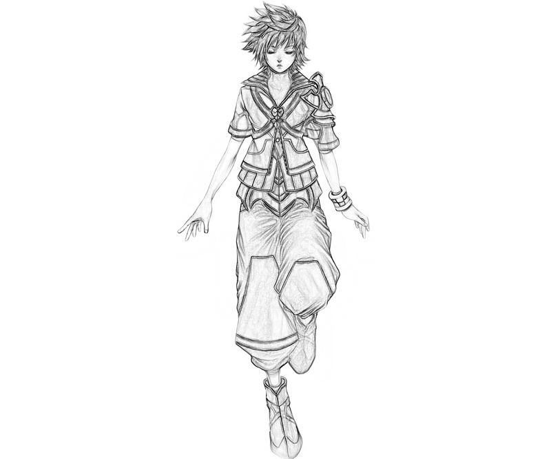 kingdom-hearts-roxas-characters-coloring-pages