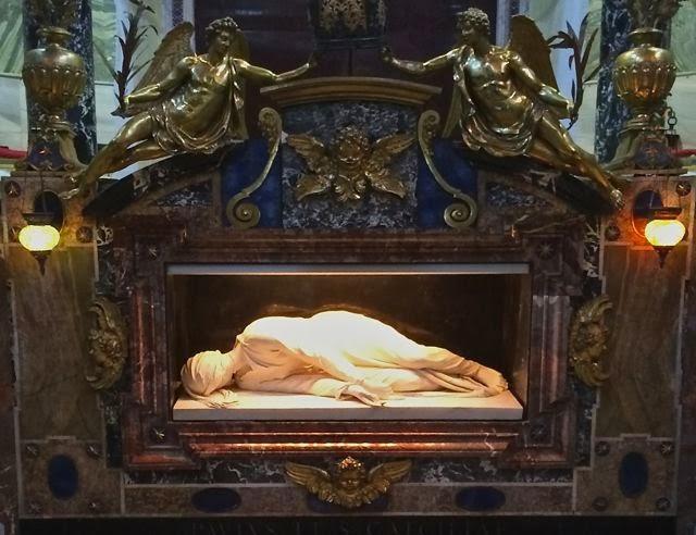 Basilica de Santa Ceclila // Rome // Trastevere