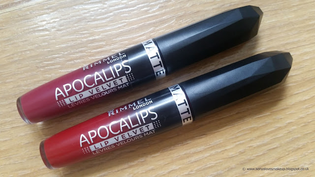 Rimmel, Apocalips, Matte, Lip Velvet, Lip Lacquer, Meteoric Matte, Burning Lava, lip products, review,